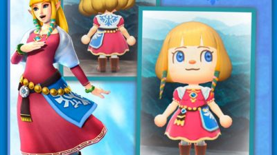 Animal Crossing: Zelda-Skyward Sword ~in all tones…..hair/eyes edited for fun