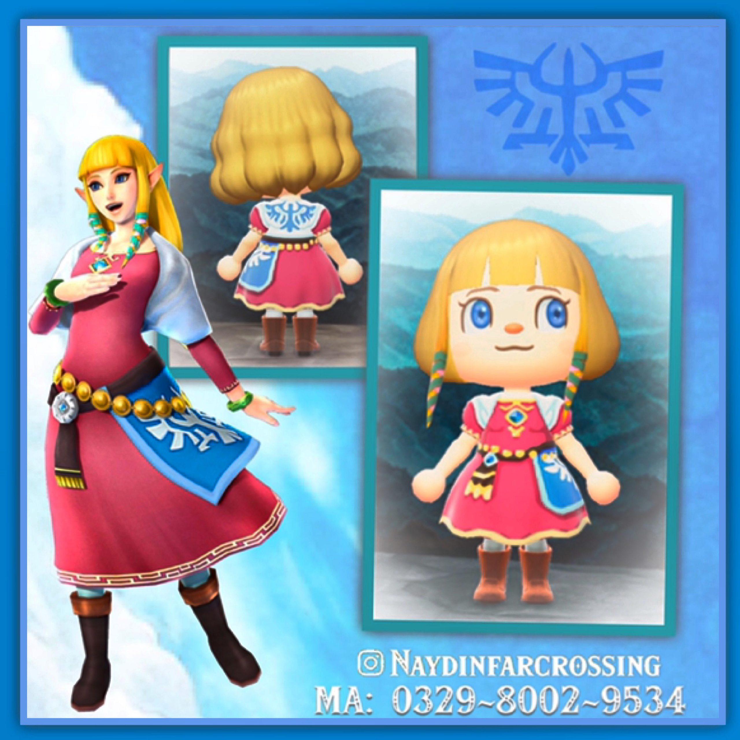 Zelda-Skyward Sword ~in all tones.....hair/eyes edited for fun