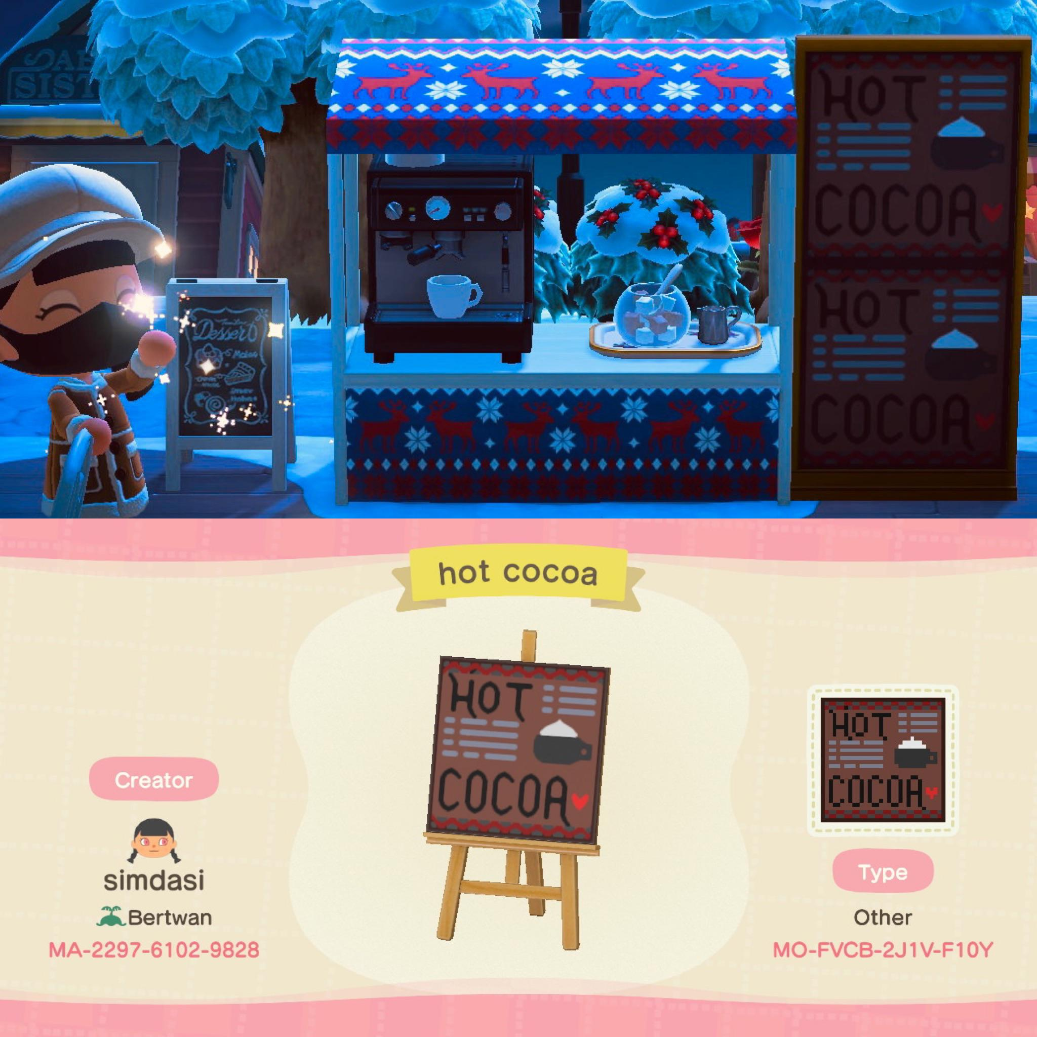 ☕️✨hot cocoa stand✨☕️