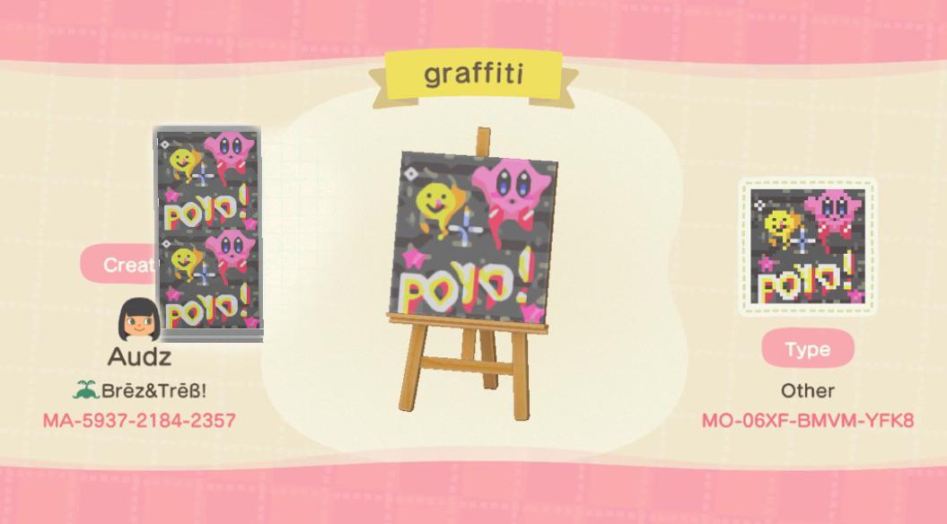 more kirby! this time graffiti panels! Looks best on silver.