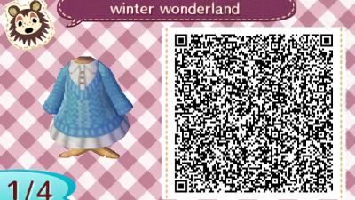 ACNH QR Based off a dress I saw online, enjoy!