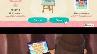ACNH QR Codes qr-closet: video game screens 👾 | creator…