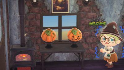 ACNH QR Codes Bidoof Crossing – qr-closet: halloween pumpkins 🎃