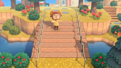 ACNL QR Codes chamomile-crossing:  i couldn't find a fake bridge pattern…