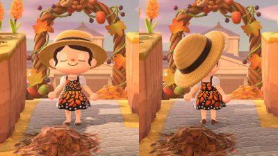 ACNH QR Codes qr-closet:monarch butterfly dress 🦋 | creator…