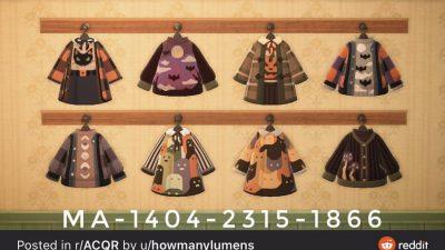 ACNH QR Codes Bidoof Crossing – acnhcustomdesigns: halloween clothing