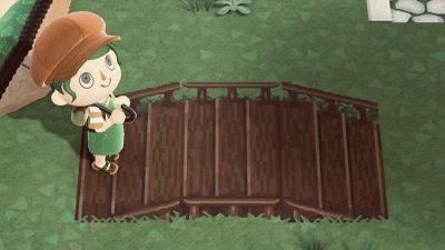 ACNH QR Codes qr-closet:  wood bridge with stairs ✨
