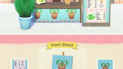 ACNH QR Codes qr-closet:plant stand designs 🌱