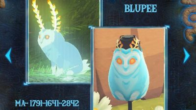 ACNH QR Codes qr-closet:blupee from breath of the wild ✨