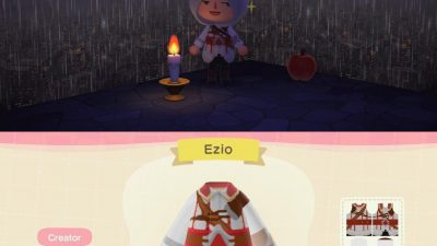 Animal Crossing: Able's was selling this hood so I had to 🤷🏻♀️
