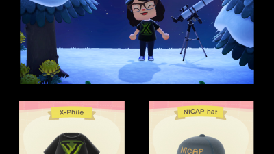 Animal Crossing: Any fellow X-Files nerds in the group? 👽