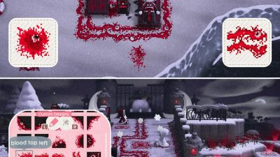 Animal Crossing: 👁️🖤 BLOOD TRAIL PATH + SPLATTERS 💉🩸 there are variations and accompanying blood splatters for you to choose from 🕸️ MA-9780-9584-9003