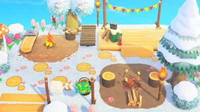 Animal Crossing: Campsite done! QR details in comment!