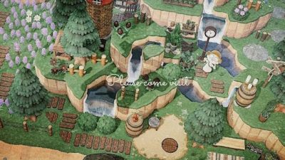 Animal Crossing: Can someone help me find the code for those wooden paths?