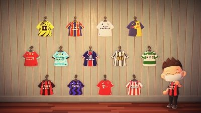 Animal Crossing: Football Shirts   Creator ID: MA-8866-7025-6925