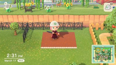 Animal Crossing: I need help making my designs so I can dig and plant on top of them. Any ideas?