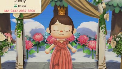 """Animal Crossing: I've been slaving away over """"Blushing Beauty♡"""" for you all! It comes in all skin tones. As always, enjoy ~<3"""
