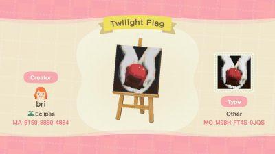Animal Crossing: Twilight Flag!