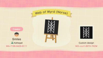 Animal Crossing: Web of Wyrd (Norse Viking Symbol)