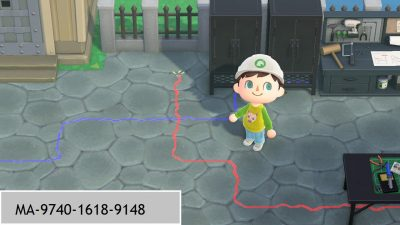 Animal Crossing: Wire custom designs