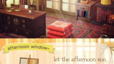 Animal Crossing: afternoon sun curtains