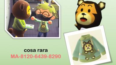 Animal Crossing: poko hoodie, i hope you like it